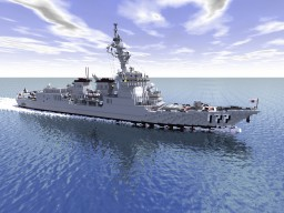 Atago-class destroyer (DDG-177) Minecraft Project
