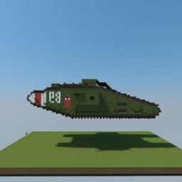 Mark V tank Minecraft