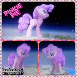 pinkie pie 3D pony Minecraft Map & Project