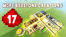 17 AMAZING REDSTONE CREATIONS IN MCPE! Minecraft Blog