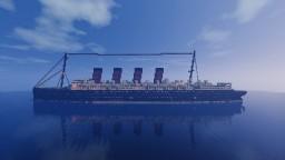 RMS Mauretania 1:1 [Full Interior] Minecraft Map & Project