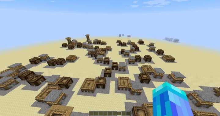 Generated village!