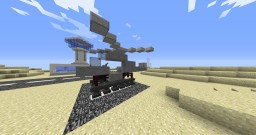 Desert Air - An Airport in the Middle of Nowhere Minecraft Map & Project