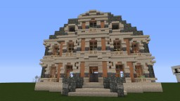 Traditional Baroque looking mansion Minecraft Map & Project
