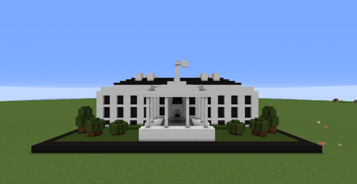 The White House Model No 21006 Minecraft Project