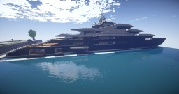 Serene Megayacht. Minecraft Map & Project