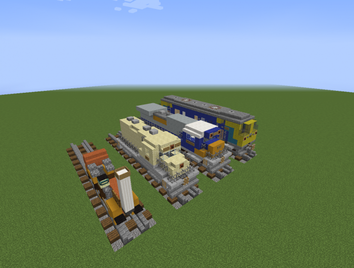 All the trains