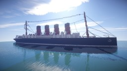RMS Mauretania + download Minecraft Map & Project