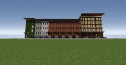 New York Sytle Townhouses Minecraft Map & Project