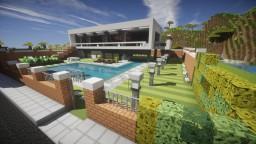La Vinya Villa - Fully furnished + downloadable Minecraft Map & Project