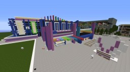 Modern Night Club and Concert Venue - Club Vertex Minecraft Map & Project