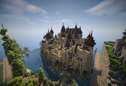 Medieval Castle - Reaper's Wind Minecraft Project