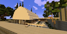 "Modern House ""Mezza Luna"" 8th post Minecraft Map & Project"