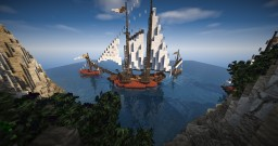 Spanish Renaissance Sailcraft [4 Boats] Minecraft