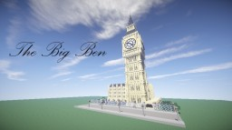 The Big Ben + download Minecraft Map & Project