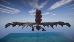 The Netherchadnezzer - Flying prison (8 cells) - downloadable Minecraft Map & Project