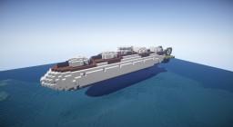 Movecraft Cruiser Airship - Takao (高雄型) Minecraft Map & Project
