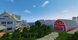 Classic American Farm Minecraft Map & Project