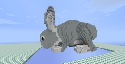 Burning Easter Bunny! For Popularmmos' burning series (1.8.9) Minecraft Map & Project