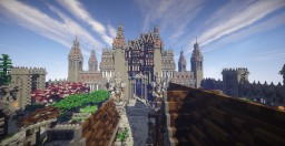 Random Castle + Town Minecraft Map & Project