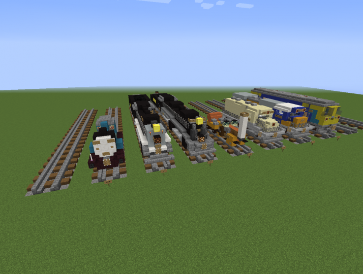 All Of The Trains Right Now