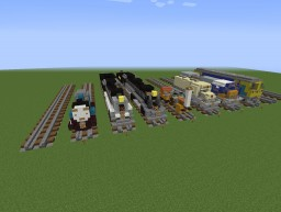 My Trains Minecraft Map & Project
