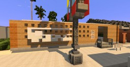 "IAS little Shops ""Vans & Gemini Cafe"" 9th Post Minecraft Map & Project"