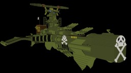Arcadia - Harlock's spaceship in Minecraft Minecraft Project