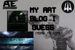 My art blog, I guess Minecraft Blog
