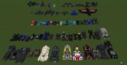 DC Comics Waynemanor&The Batcave Minecraft