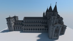 Cluny III Abbey Church [Aliquam] Minecraft