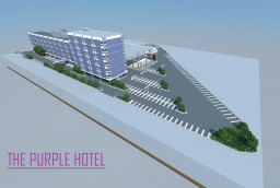 The Purple Hotel Minecraft Map & Project