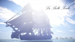 La Belle Poule // French Frigate Minecraft Map & Project