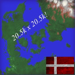 Denmark Survival map Minecraft Project