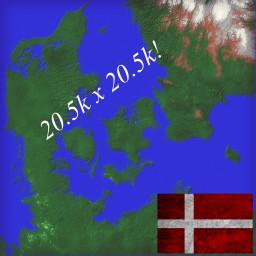 Denmark Survival map