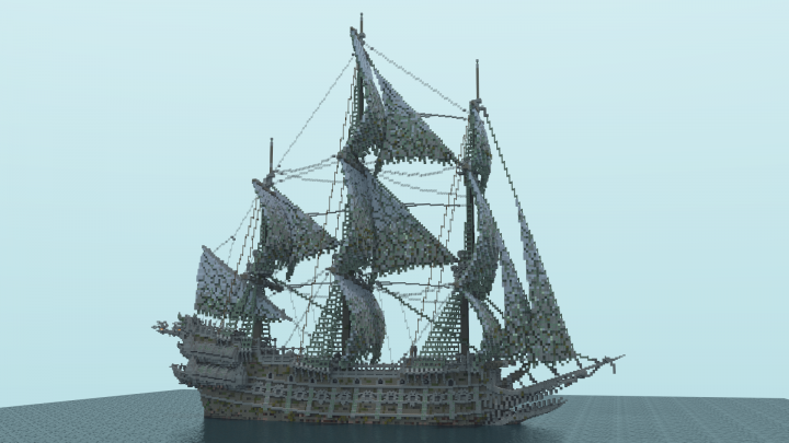 the flying dutchman minecraft project