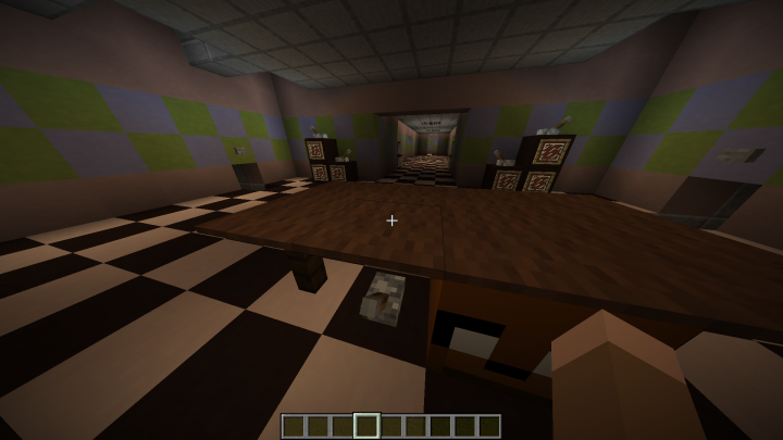 Five Nights at Freddy's 2 1 8 9 Minecraft Project