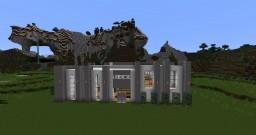 Futuristic mansion V Minecraft Map & Project