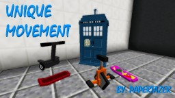 [1.8.9] Unique Movement [BMXs, Cars and Hovercrafts] Minecraft Mod