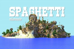 Spaghetti - Steampunk Amusement Park Island [rollercoaster contest 2nd place] Minecraft Map & Project