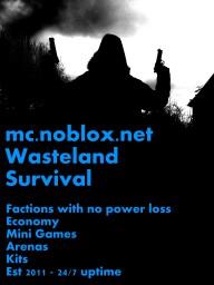 Noblox - No PvP Survival Server  - Est April 2011 Minecraft Server