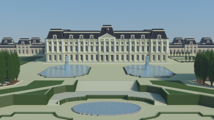 Grand Palais Royal Minecraft Project