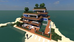 Ωραιο // Orraio // Beach House // Guest House // Pool Minecraft Map & Project