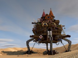 Steampunk Moving city [Desert Detour Contest] Minecraft Map & Project