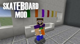 [1.8.9/1.8] Skateboard Mod! [Adding flip tricks next!] Minecraft