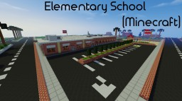 Elementary School Minecraft Map & Project