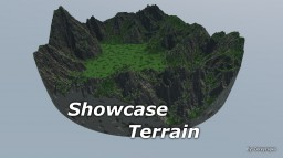 Showcase Terrain | 700 x 700 | 100% worldpainter Minecraft Map & Project