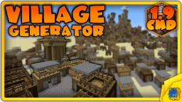 Village Generator in Minecraft 1.9! (One Command)
