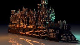 "Giant Steampunk Train: ""The Dunnsville Line"" [Download] Minecraft"