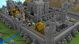 Medieval Walled City Minecraft